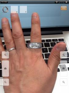 バーチャル試着 Digital Jewelry app  アプリ
