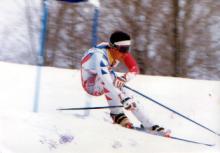 学生時代はスキー三昧