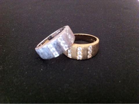 この指輪も WAX切削で作ったデジタルジュエリー