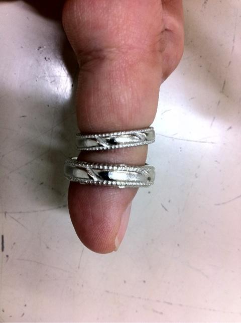 結婚指輪 製作過程!