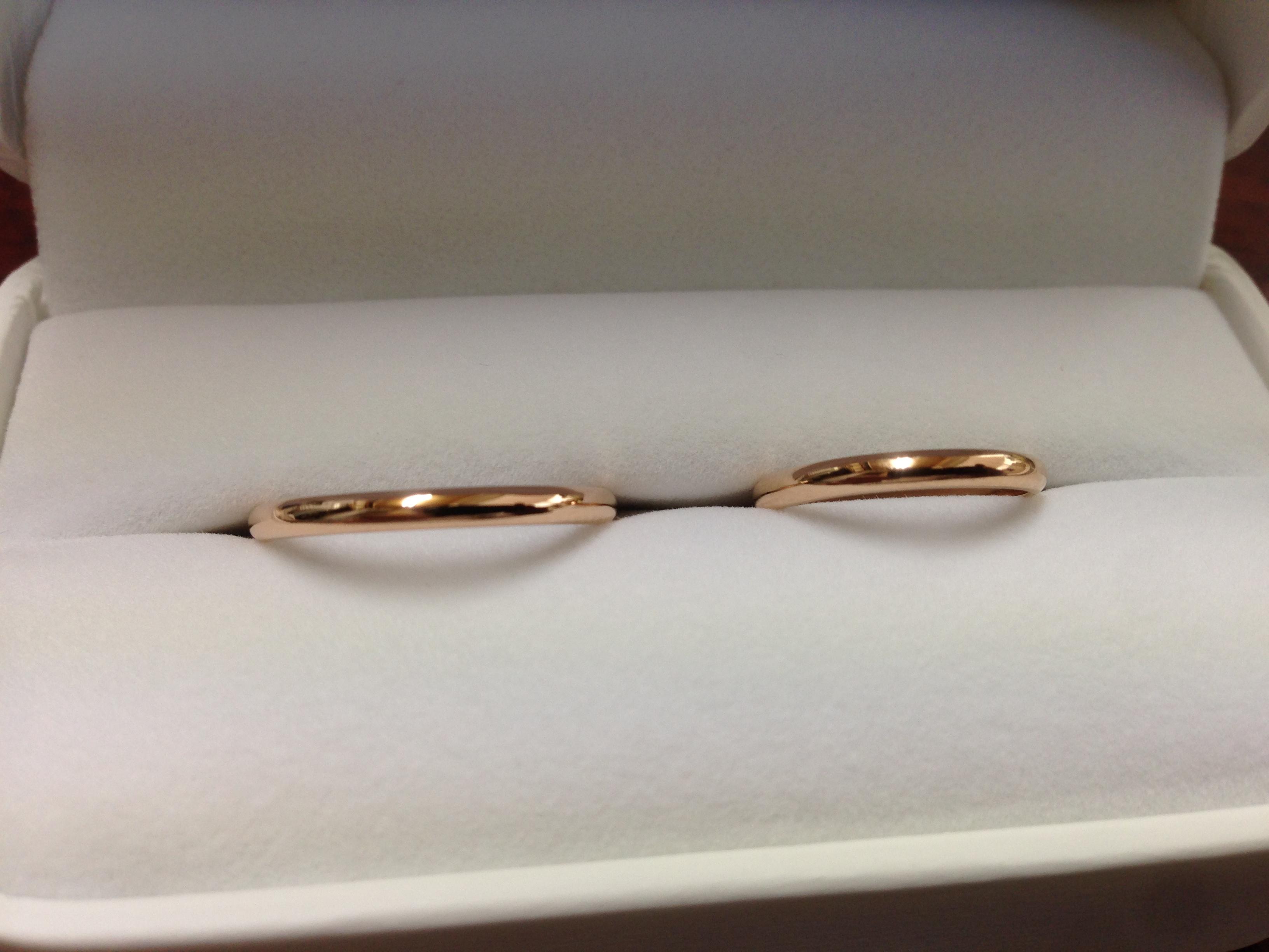 超シンプルな結婚指輪が欲しい!