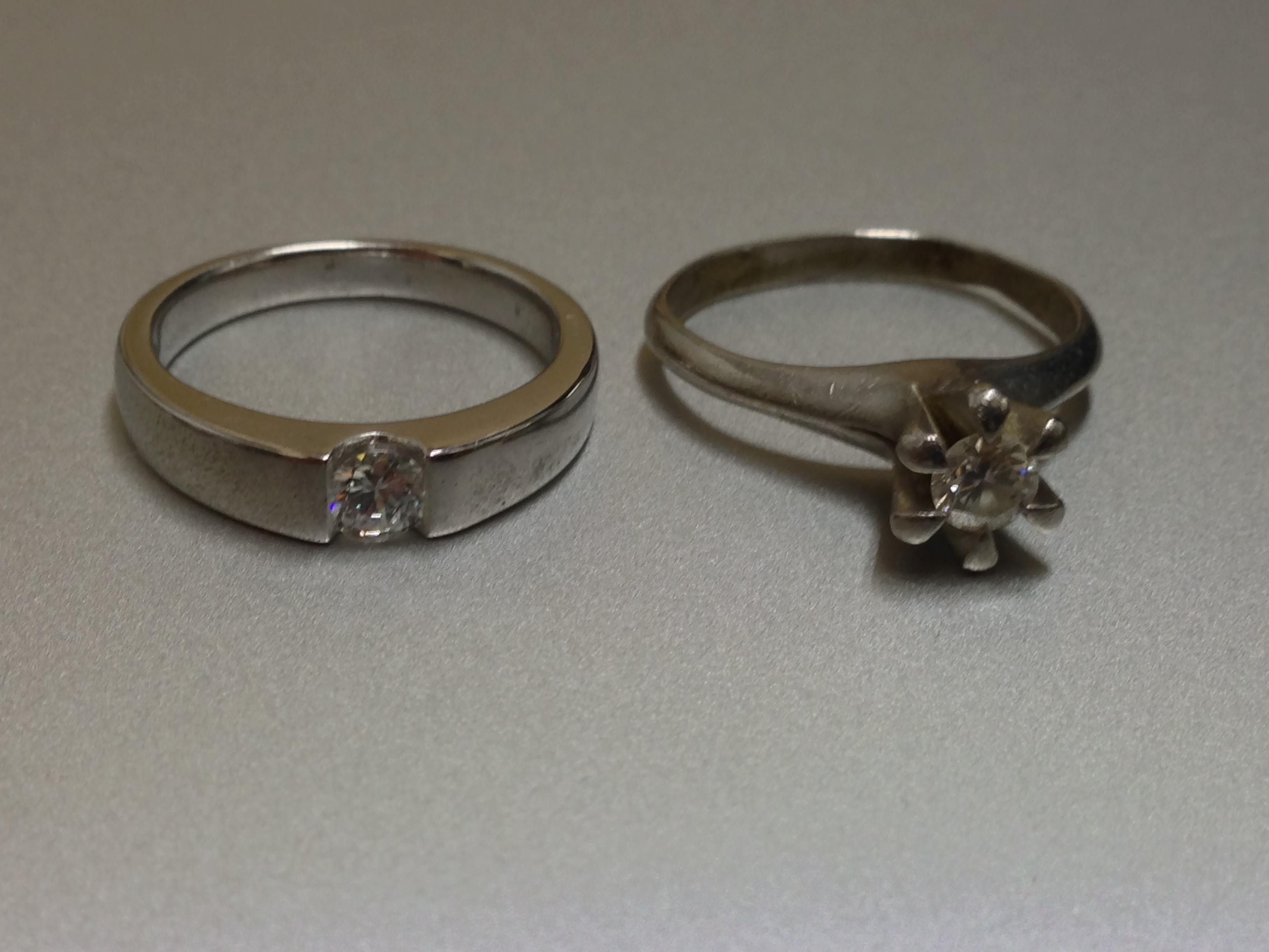 高さを抑えた指輪に生まれ変わります。