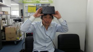 VRヘッドセットOculus Rift(オキュラスリフト)