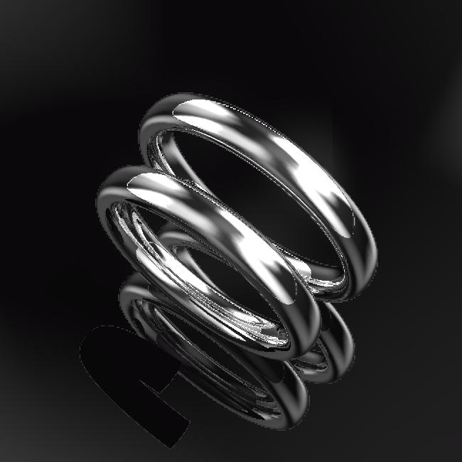指輪も愛を奏でて踊りだす。 デジタルジュエリー®結婚指輪キャンペーン