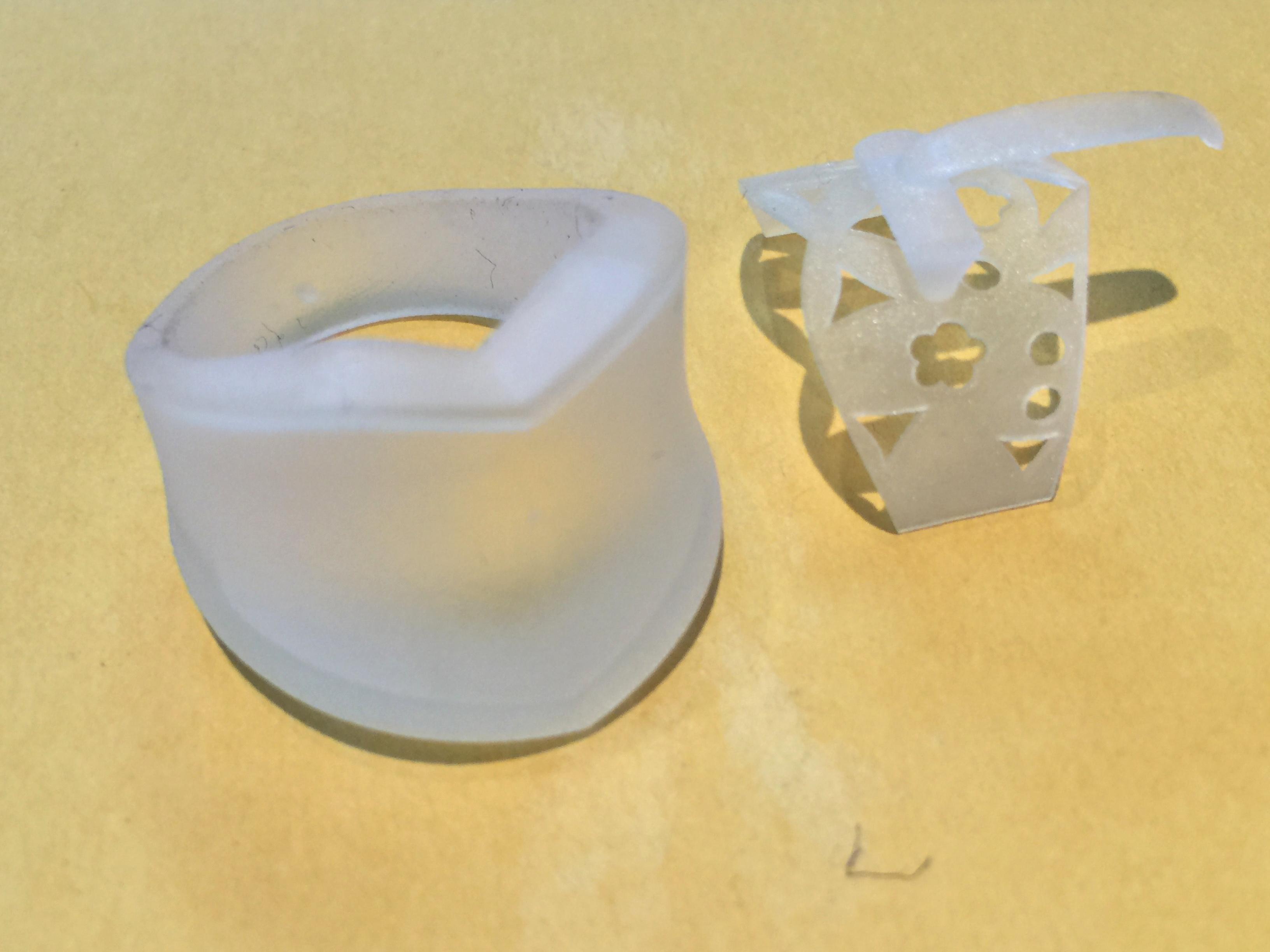 流通しているジュエリーも結構な確率で3D-CADでデザインされているんですよ。