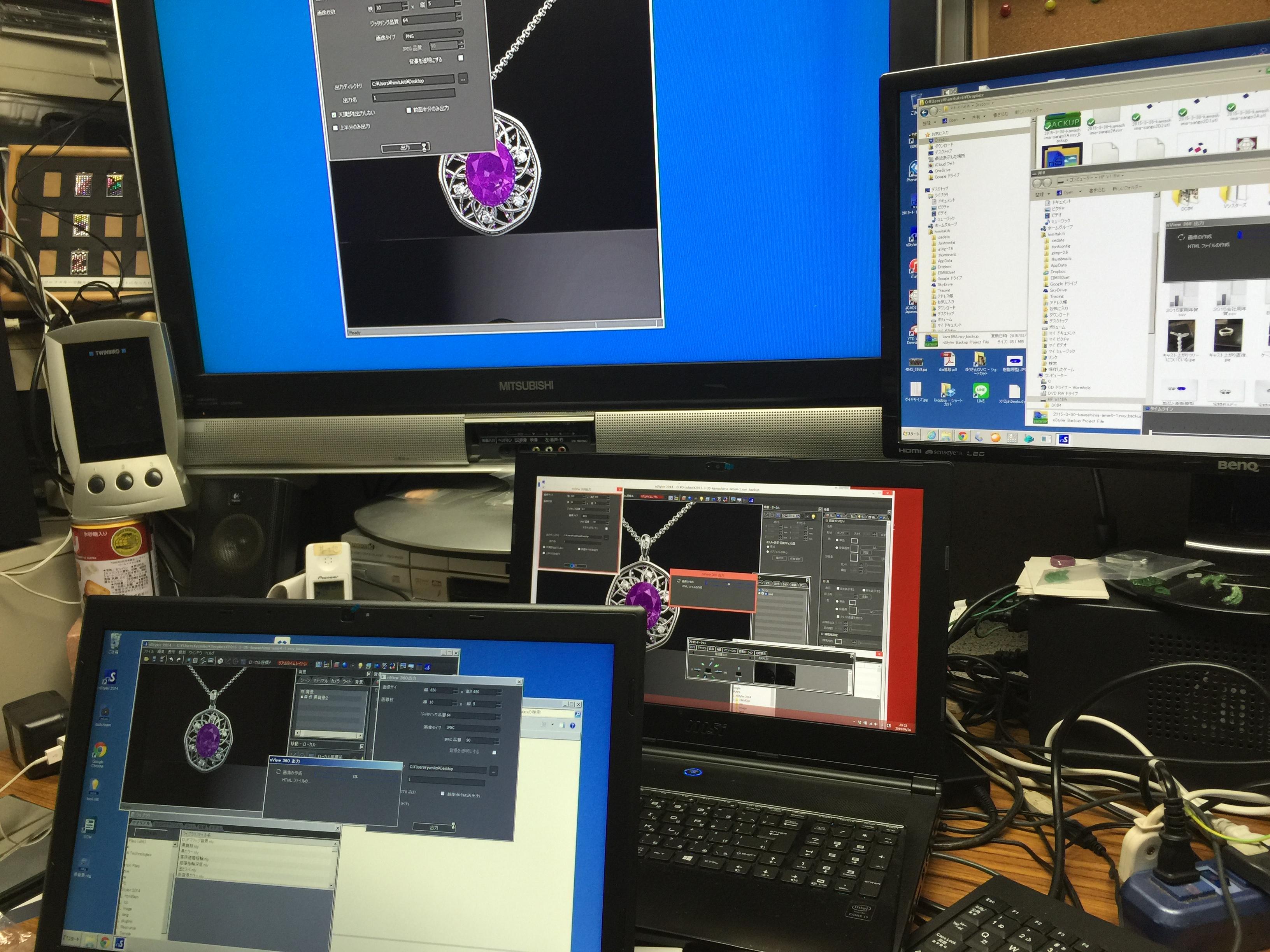 コンピュータが得意でなくても ジュエリーデザインしたい意欲があれば大丈夫。 講師の僕がめちゃくちゃ得意なので!