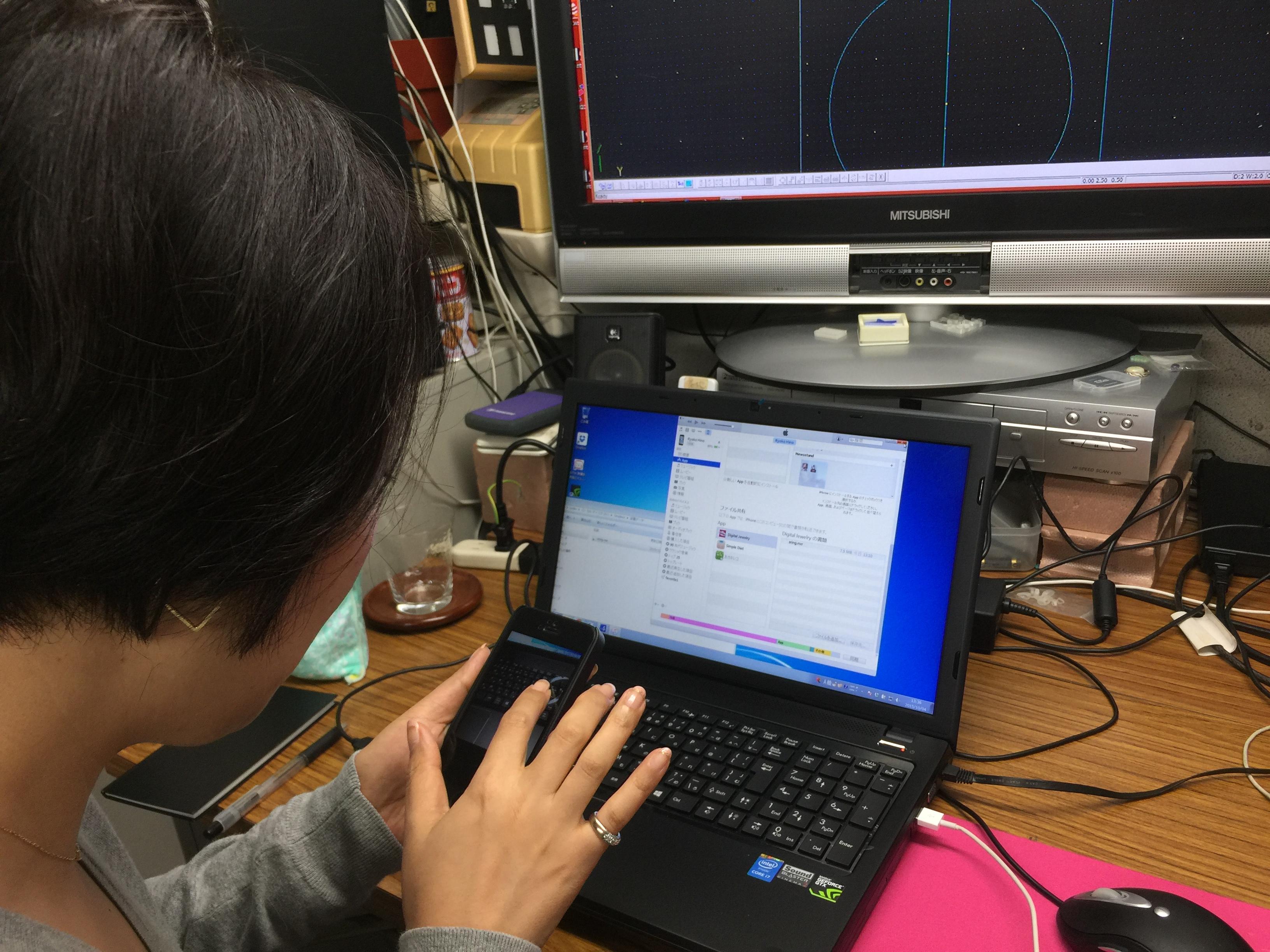 3D-CAD JCAD3で作ったデータから バーチャルジュエリーやバーチャル試着に至るまでの一気通貫