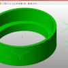 STLのエラー修正ソフト netfabbでSTLデータを開いたときの図