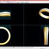 1998年1月5日 に作ったジュエリーのデータを3Dプリントしてみました。