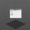 隠れ設定的な仕様のところを使い 3Dプリンターの設定詰めています。